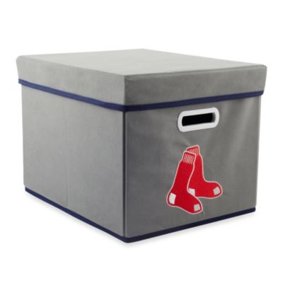 MLB Boston Red Sox Fabric Storage Drawer