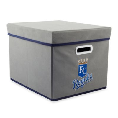 MLB Kansas City Royals Fabric Storage Cube with Cover