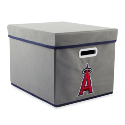 MLB Los Angeles Angels Fabric Storage Cube with Cover