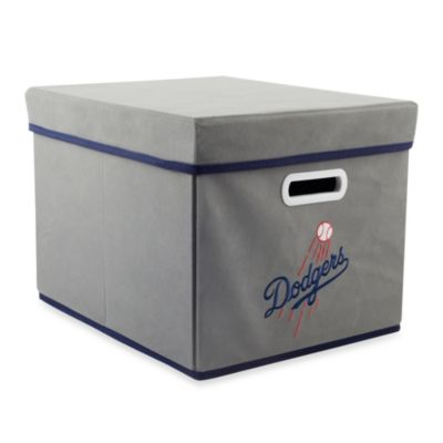 MLB Los Angeles Dodgers Fabric Storage Cube with Cover