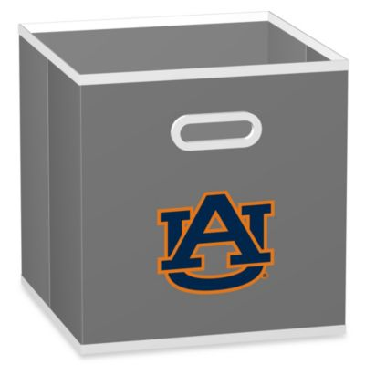 Auburn University Fabric Storage Drawer in Grey