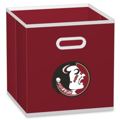 NCAA Florida State University Fabric Storage Drawer in Red
