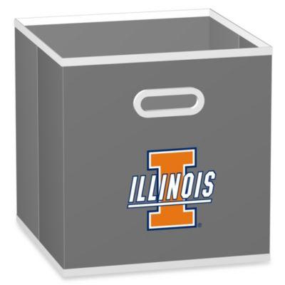 University of Illinois Fabric Storage Drawer