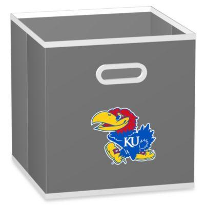 University of Kansas Fabric Storage Drawer