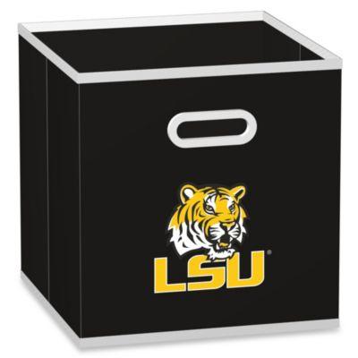 LSU Fabric Storage Drawer in Black