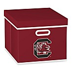 MLB University of South Carolina Storage Cube with Cover in Red