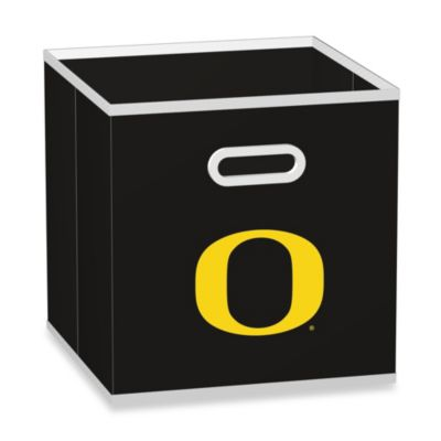 NCAA University of Oregon Storage Drawer in Black