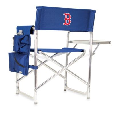 Boston Red Sox Portable Sports Chair in Navy