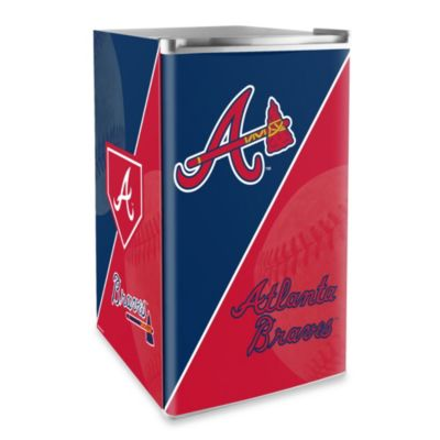 Atlanta Braves Licensed Counter Height Refrigerator
