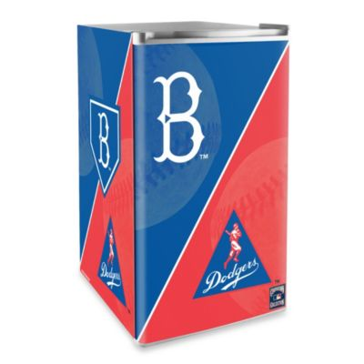 Brooklyn Dodgers Licensed Counter Height Refrigerator