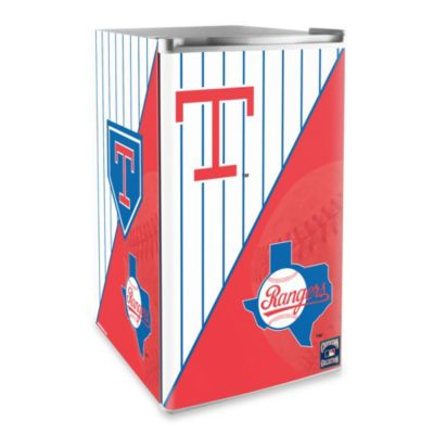 Texas Rangers Licensed Counter Height Refrigerator