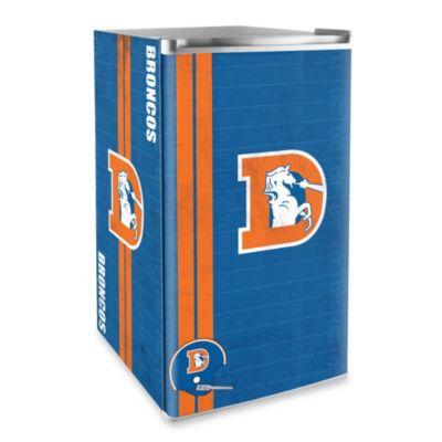 Denver Broncos Licensed Counter Height Refrigerator