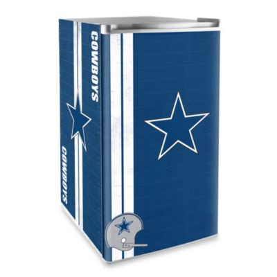 Dallas Cowboys Licensed Counter Height Refrigerator