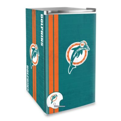 Miami Dolphins Licensed Counter Height Refrigerator