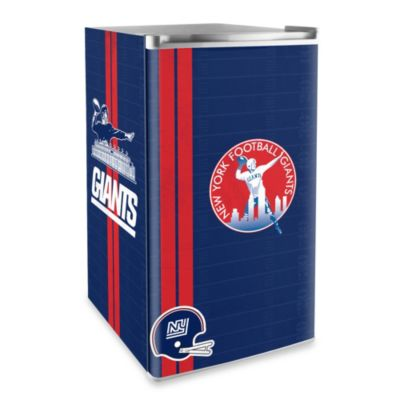 New York Giants Licensed Counter Height Refrigerator