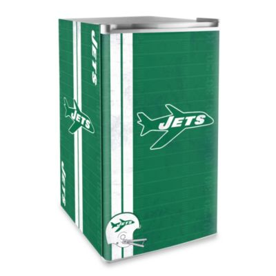 New York Jets Licensed Counter Height Refrigerator