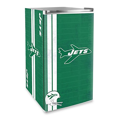 ... York Jets Legacy Counter Height Refrigerator from Bed Bath & Beyond