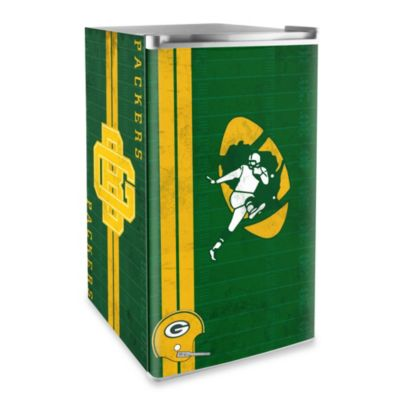 Green Bay Packers Licensed Counter Height Refrigerator