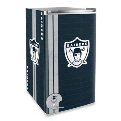 NFL Oakland Raiders Legacy Counter Height Refrigerator