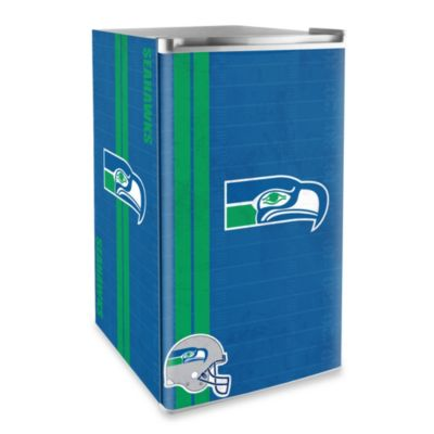 Seattle Seahawks Licensed Counter Height Refrigerator