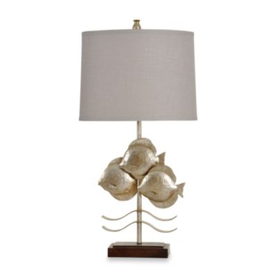 Three Fish Table Lamp