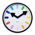 Present Time Karlsson Clock in Rainbow