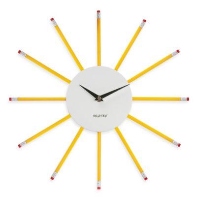 Karlsson Wanted Pencil Clock
