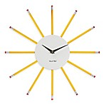 Present Time Wanted Pencil Clock