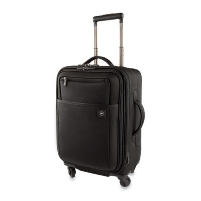 Victorinox® Avolve 2.0 4-Wheel Expandable 20-Inch Carry-On in Black