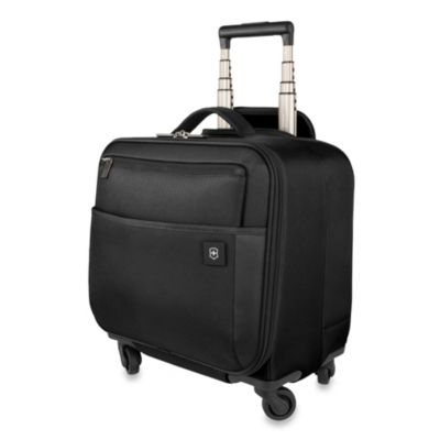Victorinox® Avolve 2.0 4-Wheel Expandable 14 3/4-Inch Tote in Black