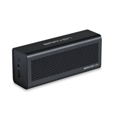 Braven 70 Bluetooth Speaker with Charger and Speakerphone in Black