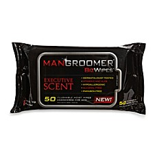 Mangroomer® Biz Wipes 50-Count Flushable Wipes for Men