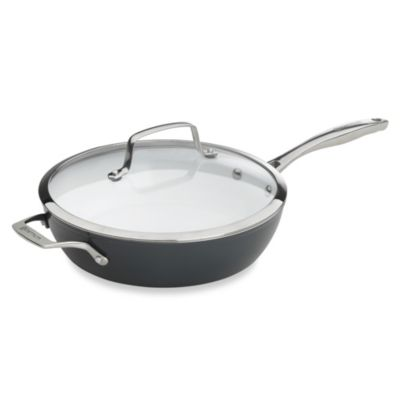 "Bialetti® Aeternum ""Fabio Viviani Signature Series"" Ceramic 11-Inch Covered Deep Sauté Pan"
