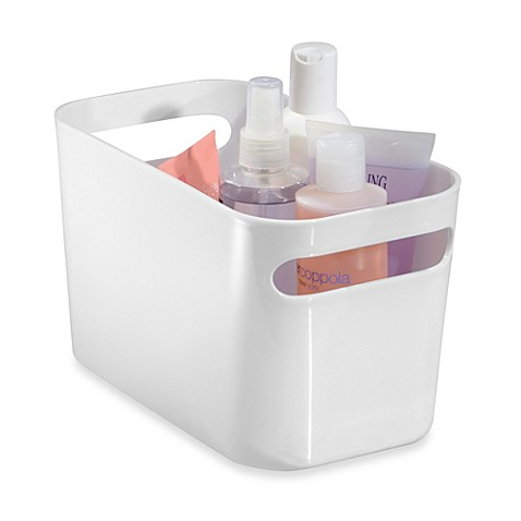 InterDesign® Una Bin Bath Storage 10