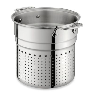 All-Clad Stainless Steel 7-Quart Pasta Colander Insert