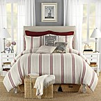B. Smith Classic Stripe Reversible Duvet Cover