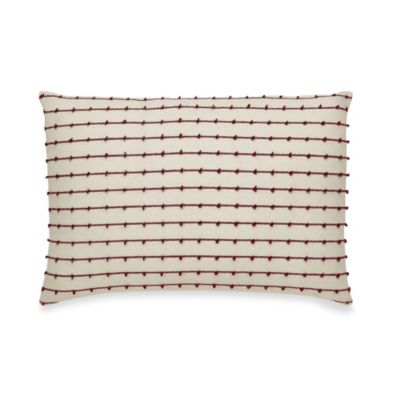 B. Smith Classic Stripe Oblong Toss Pillow