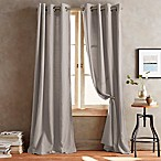 Donna Karan Home Duet Grommet Window Curtain Panels