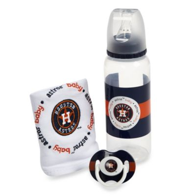 Baby Fanatic® MLB® Houston Astros Baby Essentials Gift Set