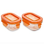 Wean Green® 5-Ounce Wean Tub in Orange (2-Pack)