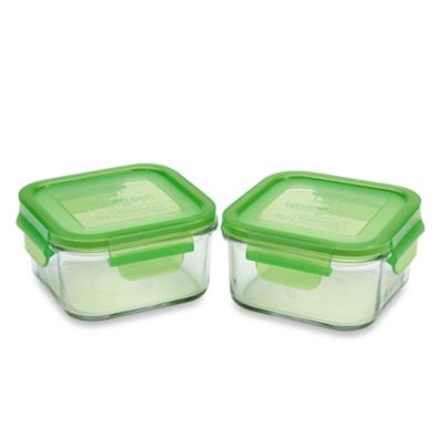 Wean Green® 16-Ounce Lunch Cube in Pea (2-Pack)
