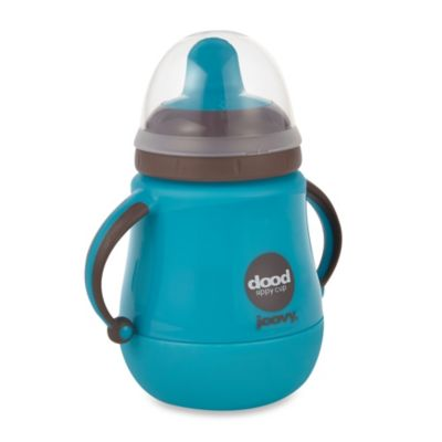 Joovy Dood Sippy Cup 9-Ounce Training Cup with Insulator - Turquoise