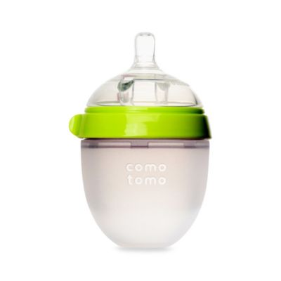 Comotomo™ 5-Ounce Baby Bottle in Green