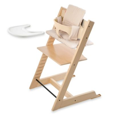 Stokke® Tripp Trapp® High Chair Complete Bundle in Natural