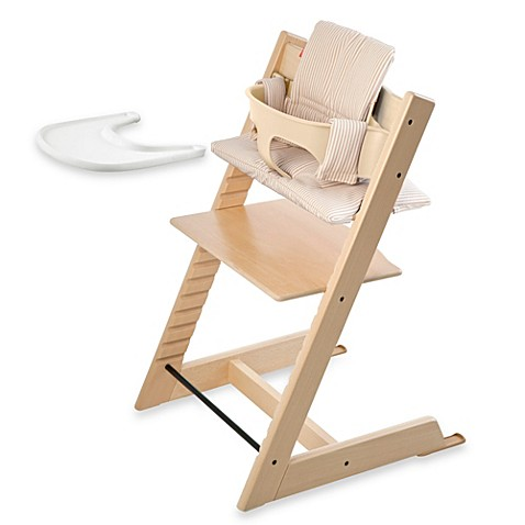 stokke tripp trapp high chair complete bundle in natural buybuy baby. Black Bedroom Furniture Sets. Home Design Ideas