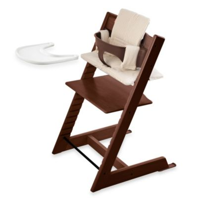 Stokke® Tripp Trapp® High Chair Complete Bundle in Walnut