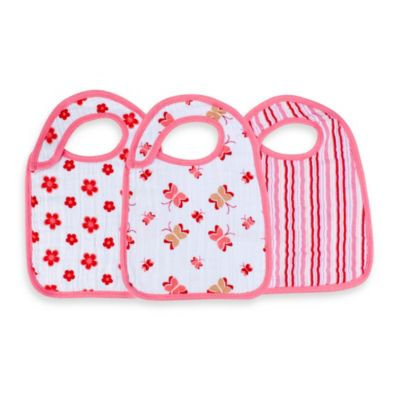 aden® by aden + anais® 3-Pack Bib Set in Princess Posie