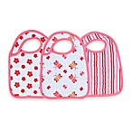 aden™ by aden + anais® 3-Pack Bib Set in Princess Posie