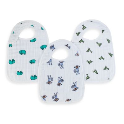 aden® by aden + anais® 3-Pack Bib Set in Jungle Jam