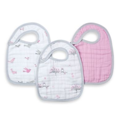 aden® by aden + anais® 3-Pack Bib Set - For the Birds